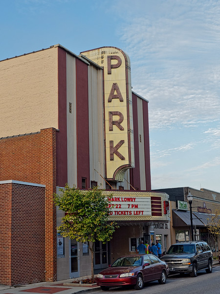 Park Theater in McMinnville