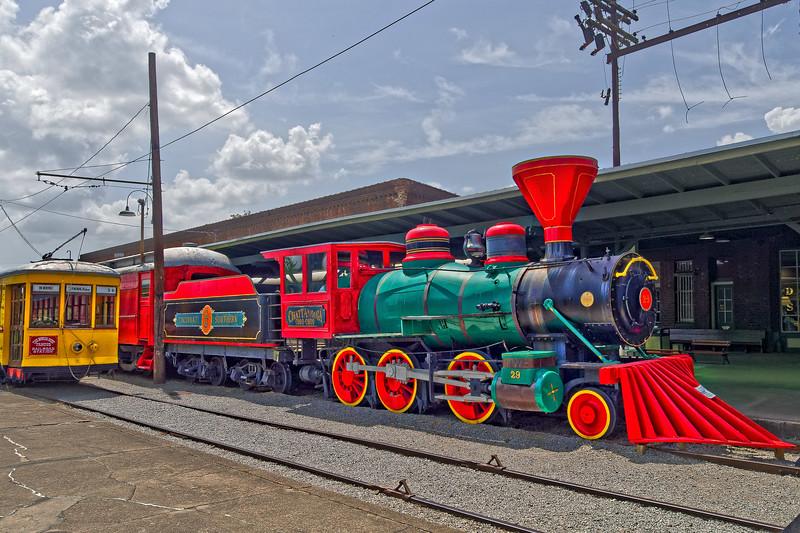 Train on Display at Chattanooga Choo Choo