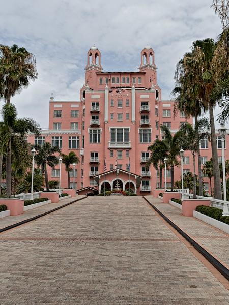 Loews Don CeSar Hotel's Entryway