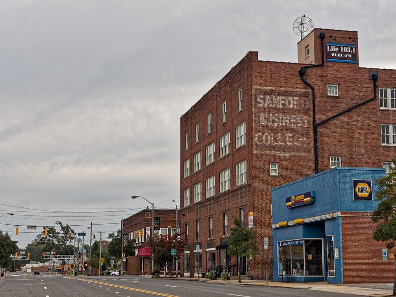 Downtown Sanford North Carolina