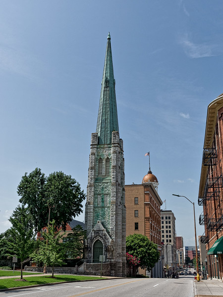 Chattanooga First Methodist Church Tower and Steeple