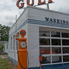 Gulf Oak Service Station Air Pump