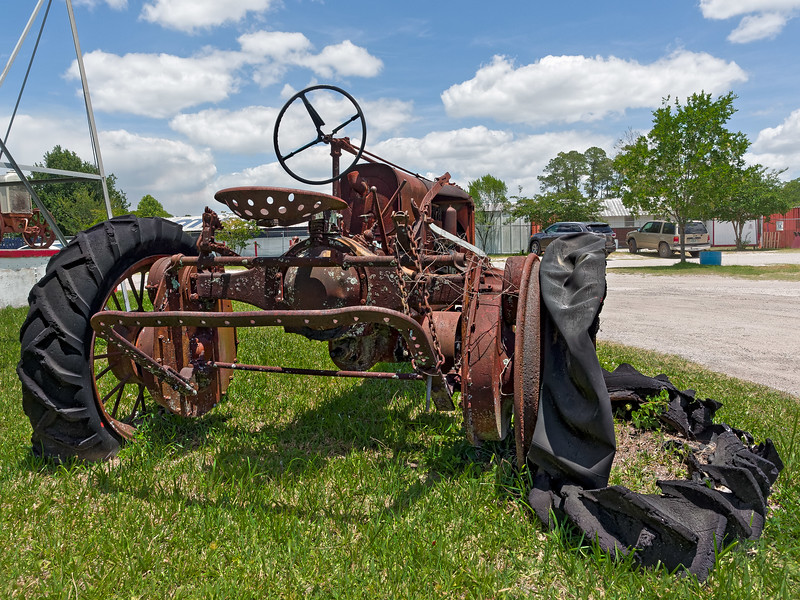 Antique Tractor in Waldo Florida