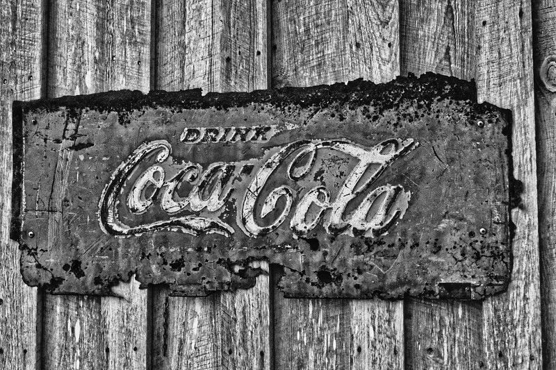 """Rediscover Early Florida""  Coca Cola Sign"