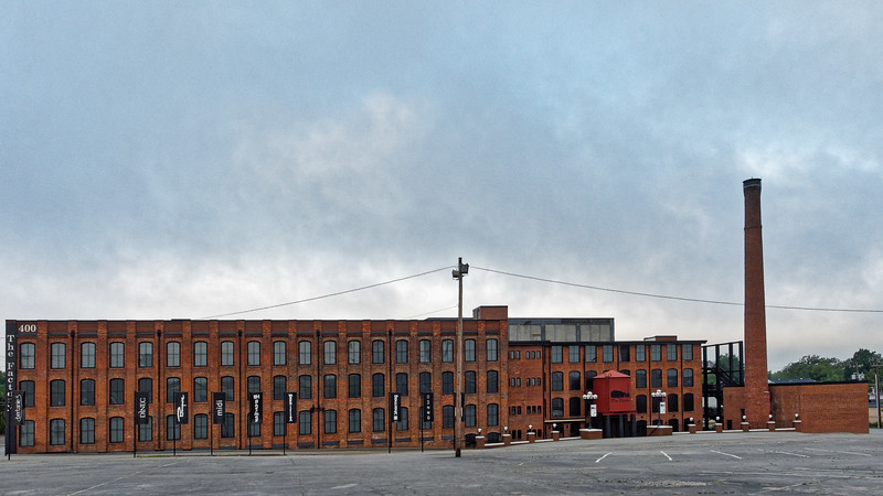 Former Adams-Millis Hosiery Mill