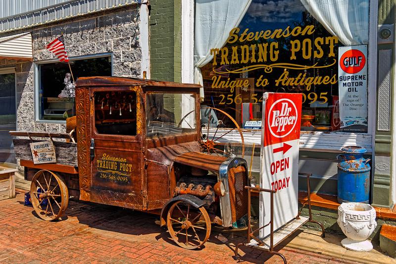 Old Ford Truck at Stevenson Trading Post