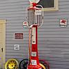 Mobilgas Pump at Heritage Village Garage