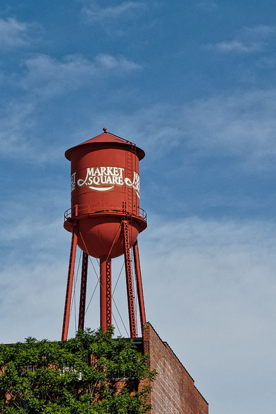 High Point Market Square Water Tower