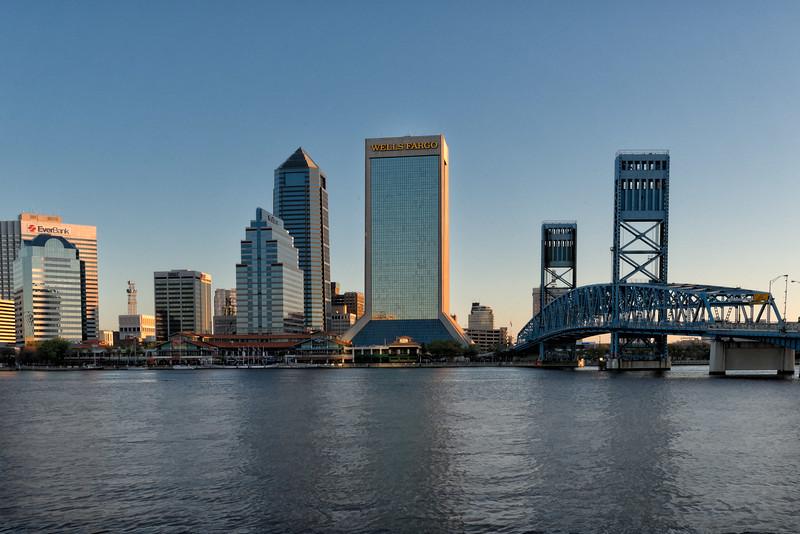 Jacksonville Skyline at Sunrise