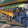 The Train Station Mural