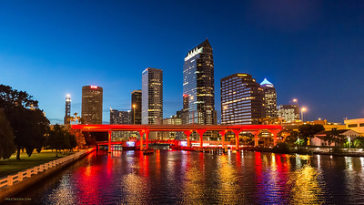 Tampa Skyline Platt Street