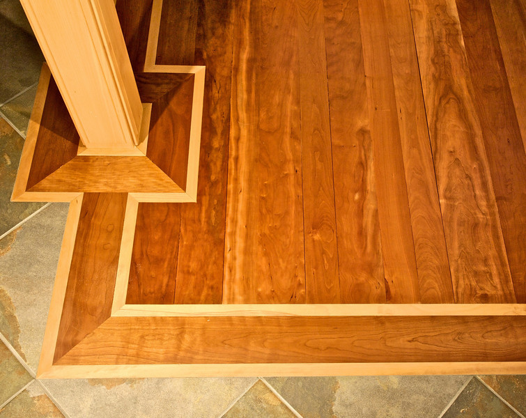 Floor detail Designed by Chesapeake Associated Architects, Chestertown