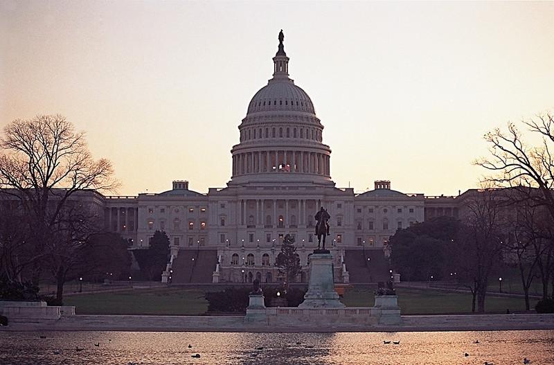 Capitol Building at Dawn, Washington