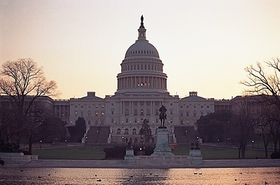 Capitol Building at Dawn, Washington
