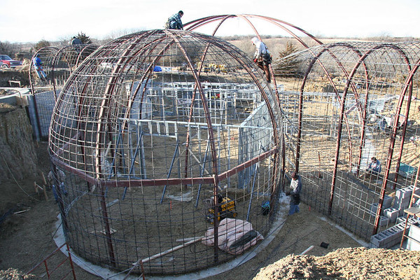 Dome Home Construction