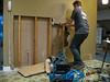 Kitchen/Living room receptacle installation