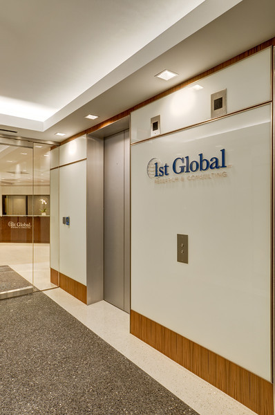1st Global Office, Dallas.  Client:  Benson Hlavaty Architects, Dallas.