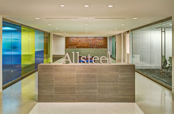 Allsteel Showroom, Dallas.  Client:  Benson Hlavaty Architects, Dallas & Allsteel..