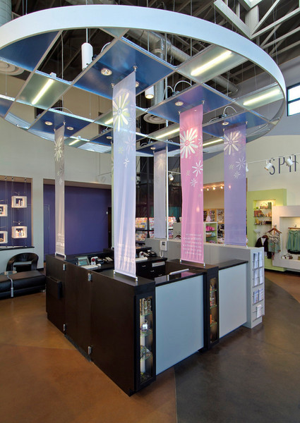 Daired's Salon, Arlington, Tx. -  Interior Design Group, Fort Worth.