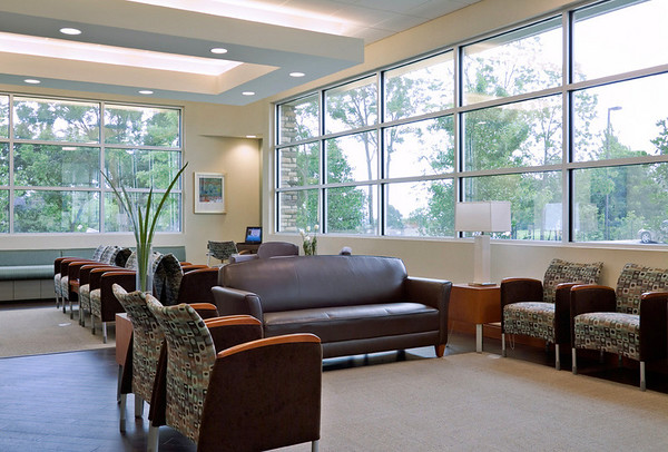 Dermatologist's Office, Southlake, TX.  Client:  Interior Design Group, Ft. Worth.