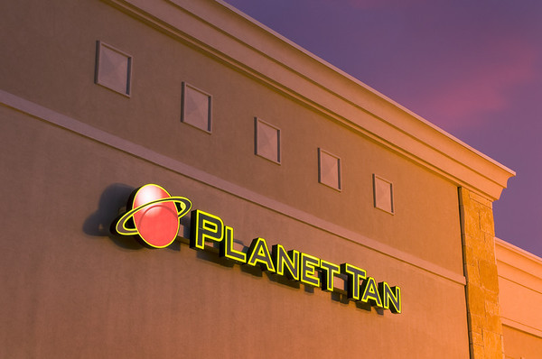Planet Tan Store in Southlake.  Client:  TMB Marketing Group, Memphis TN.