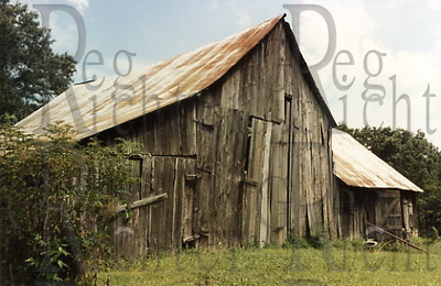 My family's old barn in Alabama.