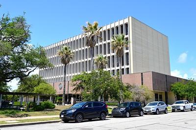 Galveston County 1966 Courthouse - Southwest Corner