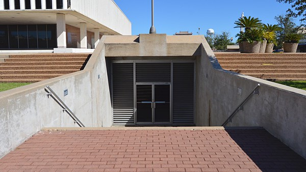 Underground Parking Entry