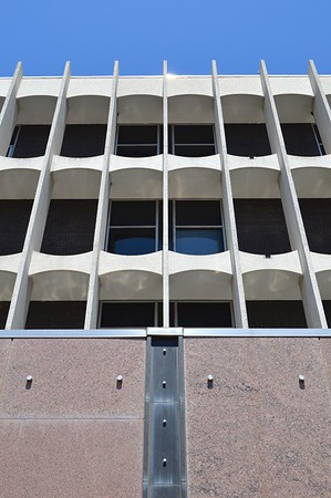Galveston County 1966 Courthouse - Brise Soleil Detail
