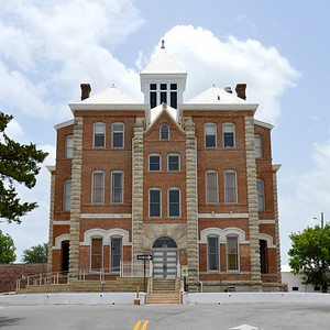 Grimes County Courthouse, North Elevation