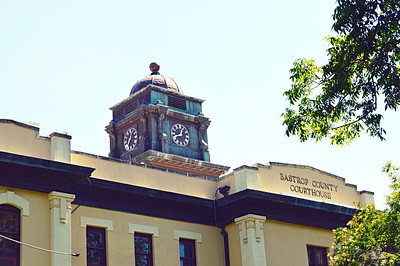 Bastrop County Courthouse - Clock Tower