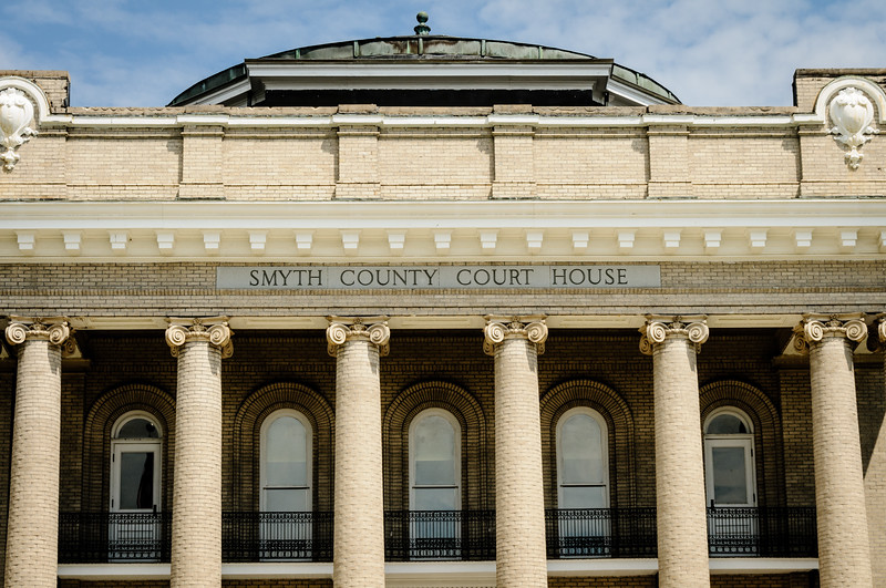 Smyth County Courthouse, 109 West Main Street, Marion, Virginia