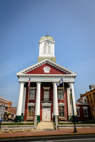 Jefferson County Courthouse, 100 E. Washington Street, Charles Town, WV