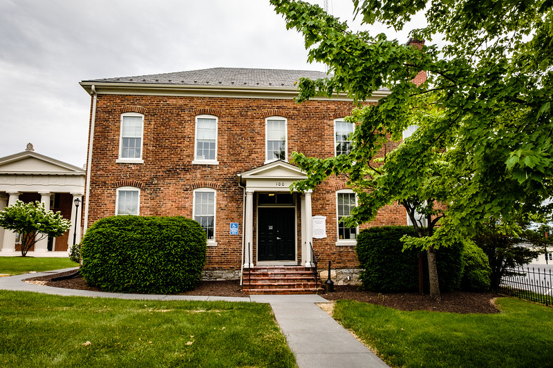 Sherrif's Office and former County Jail, 100 North Street, Berryville, Virginia