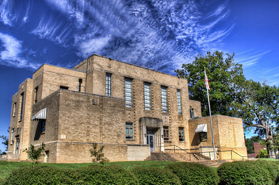 Lafayette County Courthouse - Lewisville