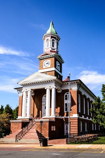 Culpeper County Courthouse, West Davis Street, Culpeper, Virginia