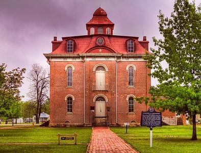 Former Jackson County Courthouse - Jacksonport, AR ca. 1872