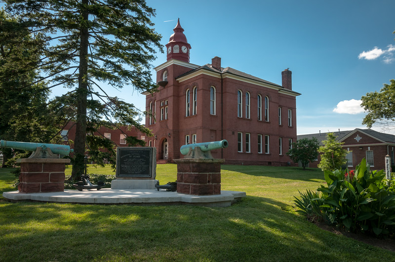 Old Prince William County Courthouse, Lee Avenue, Manassas, Virginia