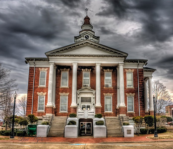 Logan County Courthouse - Paris, AR