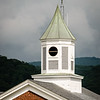 Sun Shining on Cupola on Highland County Courthouse, 165 West Main Street, Monterey, Virginia