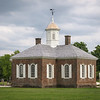 James City County Courthouse, Market Square, Colonial Williamsburg, Virginia