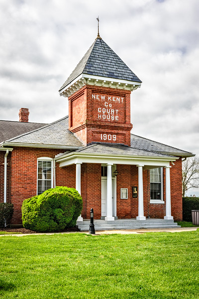 Historic New Kent County Courthouse, Courthouse Circle, New Kent, Virginia