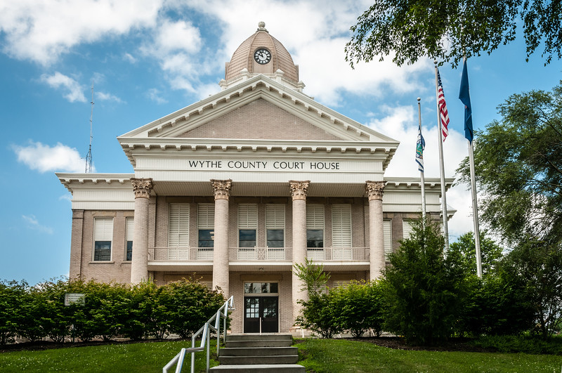Wythe County Courthouse, Wytheville, Virginia