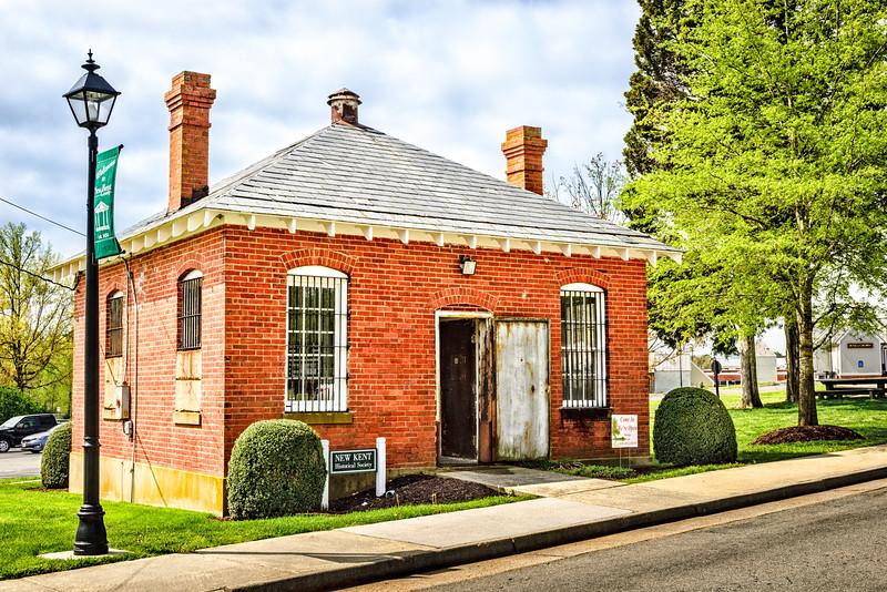 Historic New Kent County Jail, Courthouse Circle, New Kent, Virginia