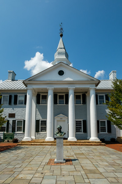 Old Shenandoah County Courthouse, Main Street, Woodstock, Virginia