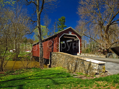 Zooks Mill covered bridge - Lancaster county Pa - 4/9/17