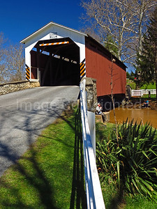 Erbs Mill covered bridge - Lancaster county Pa - 4/9/17