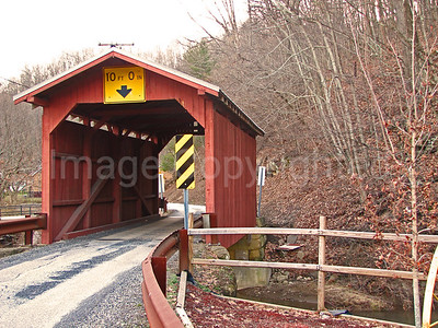 Fish Creek Covered Bridge - Hundred WV