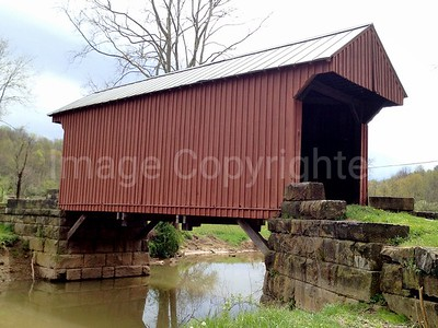 Walkersville Covered Bridge - 04/17/12