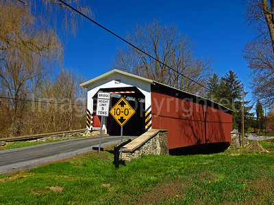 Lime Valley covered bridge - Lancaster county Pa - 4/9/17